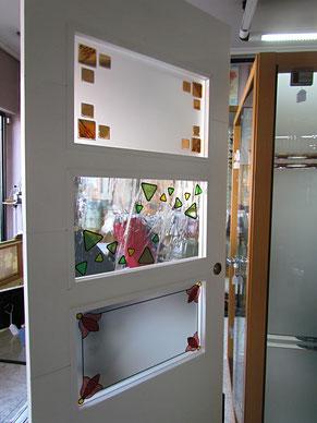 cristales para puertas modernas en Madrid