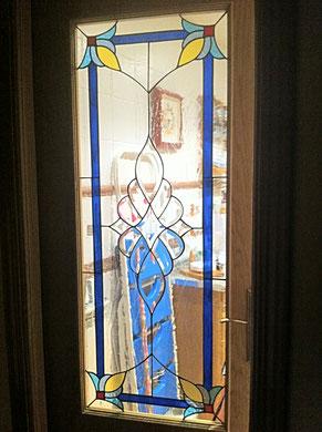 vidrieras para puertas en Madrid