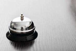 Service-Klingel für Kundenservice