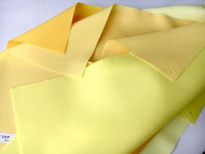 テストカラードレープ 黄色
