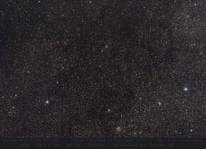 offene Sternhaufen in Cassiopeia