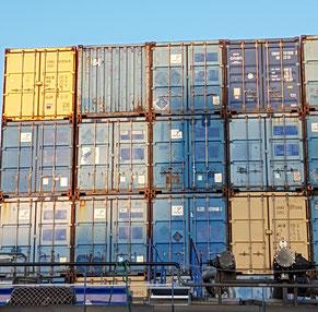 Destination PR - Container Hamburg