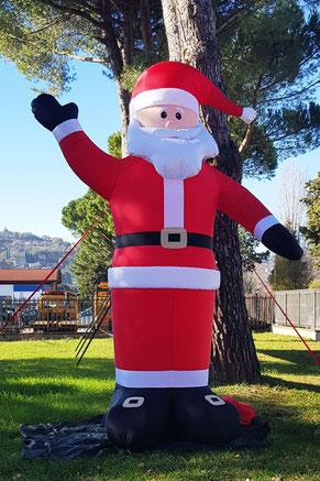 Babbo Natale Gonfiabile, Santa Claus Inflatable