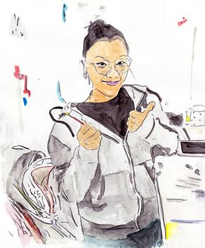 Illustration of Toni