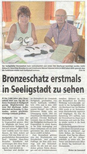 Bild: Seeligstadt Chronik 2016