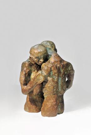 Figur 271, Bronze, 2015, 17,5x13x11cm
