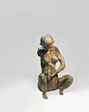 Figur 272, Bronze, 2015, 19,5x11,8x11,5cm