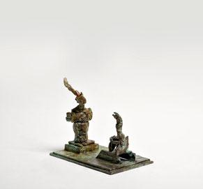 Figur 280, Bronze, 2015, 28x31x 20,5cm