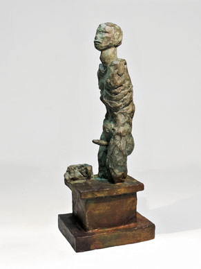 Figur 273, Bronze, 2015, 31,5x9,8x12cm
