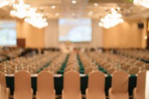 seminar empty room