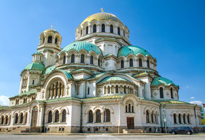 Alexander Nevsky Cathedral Sofia Bulgaria private city tour