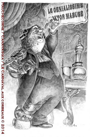 15-Doktor Mabuse, chimiste en toc, escroc authentique