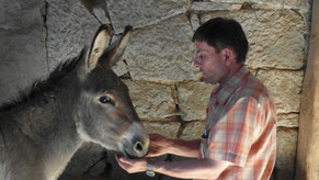 Mr. Tom (damals noch Gerhard) und Holger in der Pflegestelle bei Folke