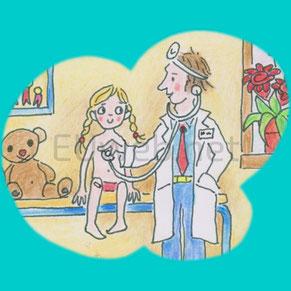 "Beispiel-Homepage ""Pädiatrie"""