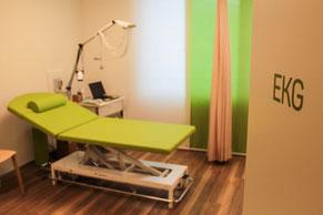 EKG der Praxis im Zentrum Villmergen