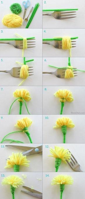 Slakkenpost.nl Flower DIY