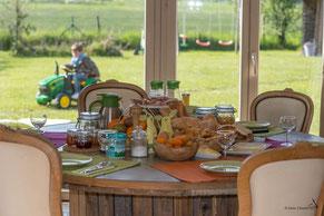 La Maison du Vivier - Gîte 6 personnes à Durbuy - Service petit déjeuner