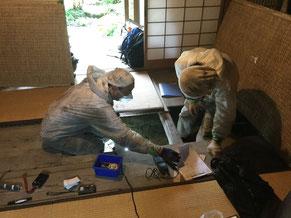 木の家の現況調査、木の家の耐震診断、木の家の温熱診断、木の家の劣化調査、お任せください。大阪府吹田市近郊から関西圏〜調査可能です。
