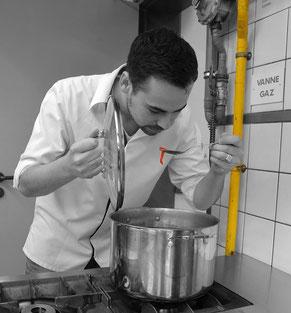 Chef Vivien sanson cours de cuisine