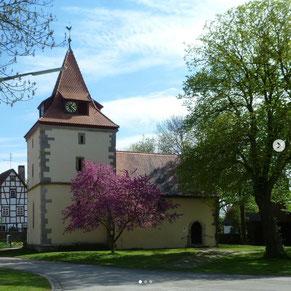 St.Kilianskirche Oberscheckenbach (Foto: Andrea Fröhlich)