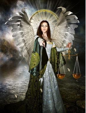 """Yehuiah, Ange régent des degrés 10-15 de la Vierge """"Dieu qui connaît Toutes Choses"""""""