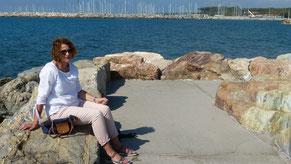 im Hafen von Cecina Mare