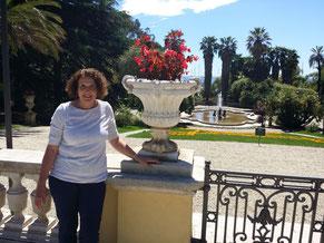 im Park der Villa Nobel in Sanremo