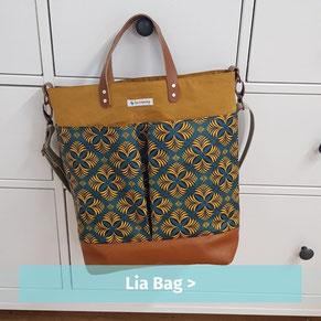 Lia Bag, der schicke Shopper, der auch als Umhängetasche getragen werden kann.
