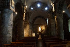 「清めの聖母教会」の内陣