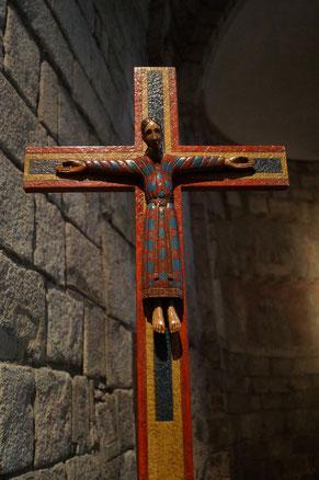 「清めの聖母教会」のキリスト