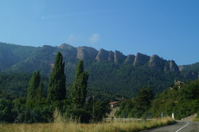サン・ファン・デ・ラ・ペーニャの山