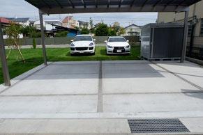 駐車場を増設