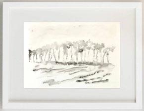 DITEMI, GRANDI ALBERO SOGNANT (S. PENNA), 2020, Acquerell, 30 x 20