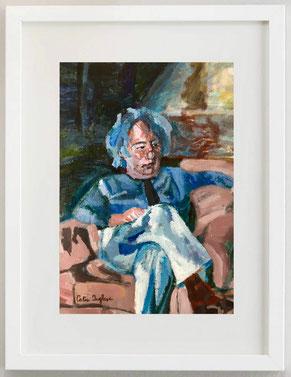 Giuseppe F., 2001, Acrilico, 20 x 30