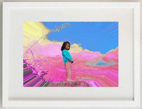 """""""Vedetta inca"""",  2020, Arte digitale, 30 x 20"""
