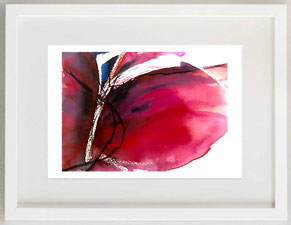 Metamorfosi 2 (di farfalle), 2010, Acquerello tecnica mista, 25 x 17