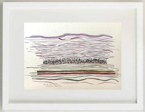 SENZA TITOLO, 2000, Acquerello su cartoncino, 30 x 20 cm