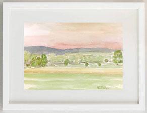 """"""" Landschaft"""", Aquarell, 30 x 20"""