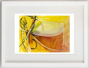 Metamorfosi 3 (di farfalle), 2010, Acquerello tecnica mista, 25 x 17
