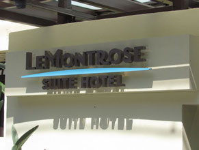 Le Montrose Business Sign