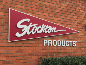 Stockton Dimensional Wall Sign