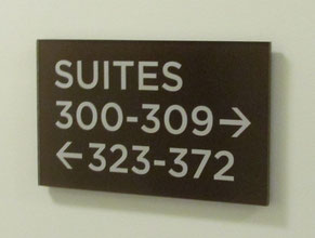 Commons Directional Sign 1