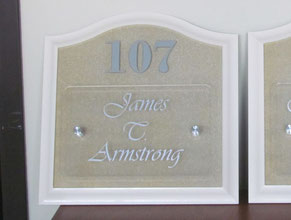 Welbrook Suite Plaque ADA Sign
