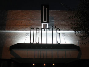 Berris Dimensional Letter Building Sign