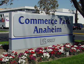 Commerce Park Monument Sign
