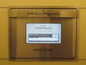 Magnolia Directory Office Sign