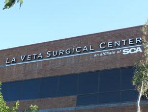 La Veta Medical Office Wall Sign