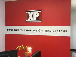 XP 3D Lobby Wall Office Sign