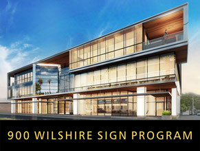 900 Wilshire Sign Program