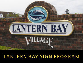 Lantern Bay Sign Program